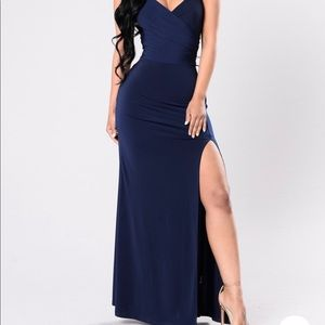 Formal Dress - Navy